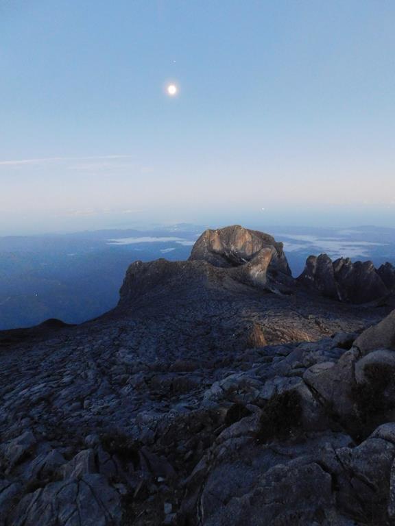 szczyt Mount Kinabalu