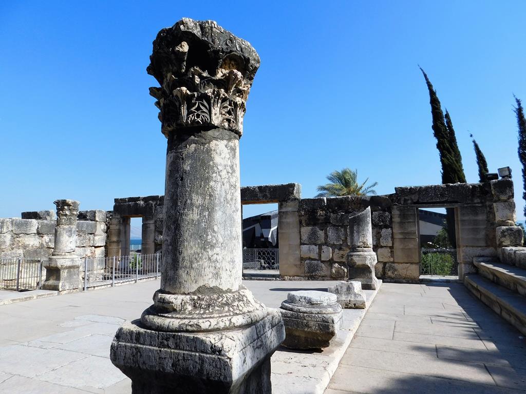 Góra Arbel Kafarnaum Ścieżki Mojego Świata