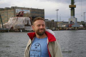 Marek Dąbrowski Gdański Tramwaj Wodny Ścieżki Mojego Świata