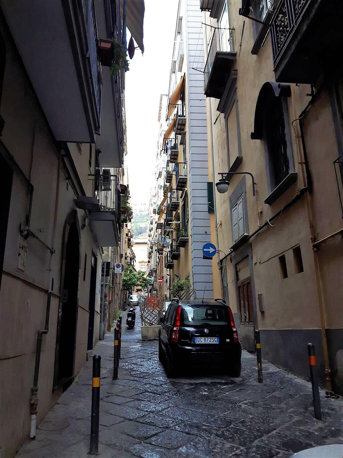 Quartieri Spagnoli Neapol