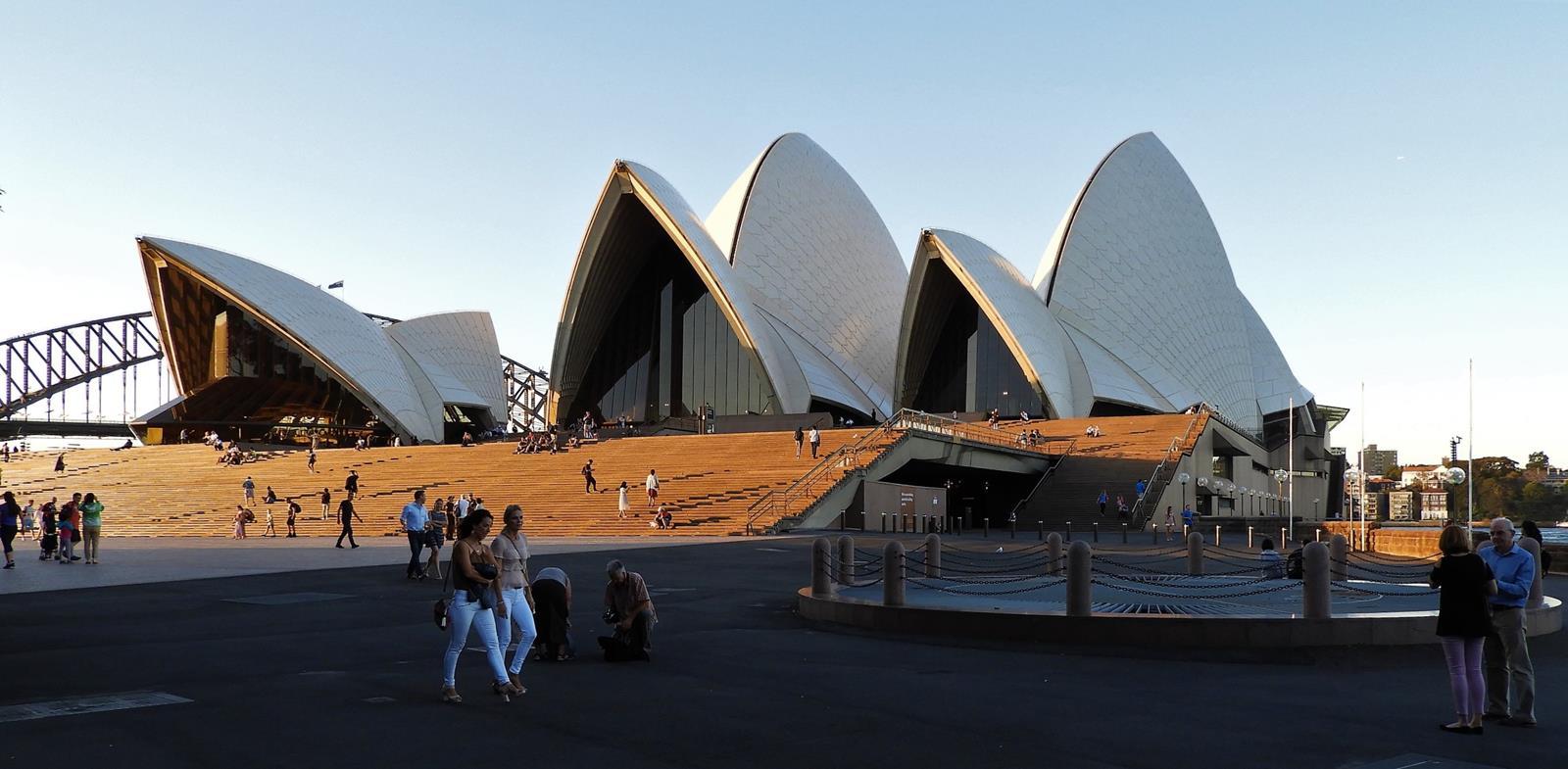 Ścieżki mojego świata Sydney Opera House