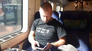 Opóźniony pociąg Marek Dąbrowski Ścieżki mojego świata