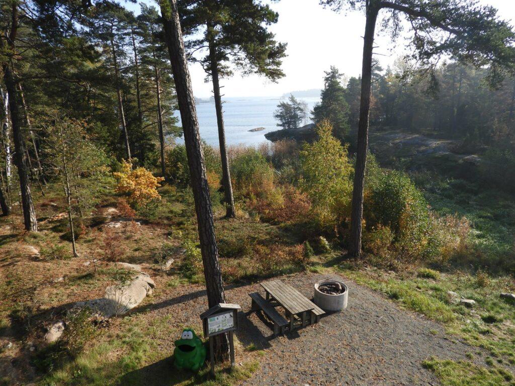 Ścieżki mojego świata Brannäs Våtmark Oxelösund
