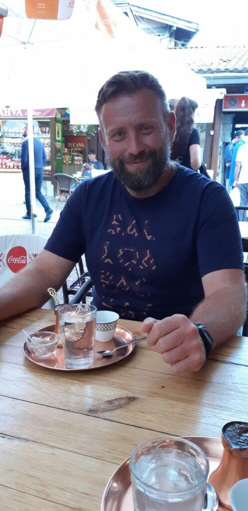 Kawa po bośniacku Ścieżki mojego świata