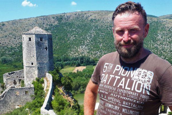 Bośnia na wakacje: Počitelj, malowniczo i piracko