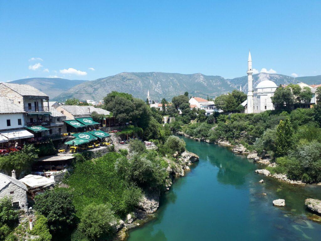 Koski Mehmed Pasha Mosque Mostar Ścieżki Mojego świata