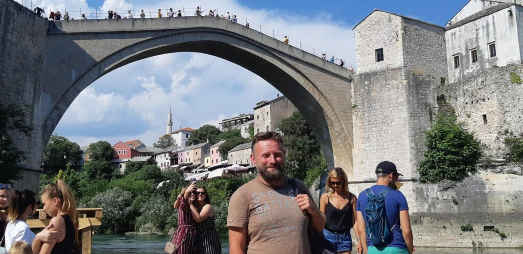 Stary Most Mostar Ścieżki Mojego świata