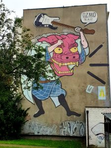Murale Zaspa Gdańsk