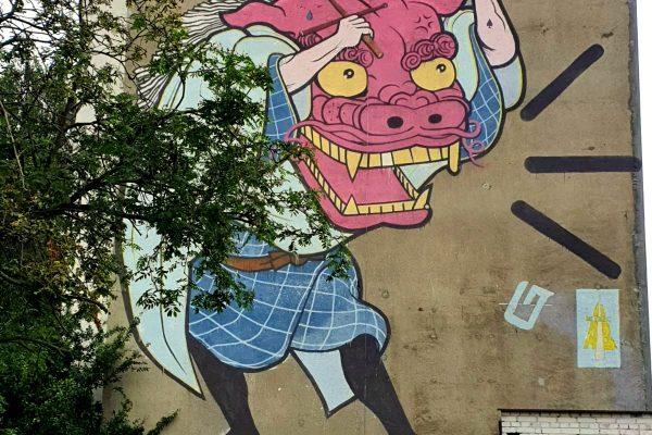 Murale Zaspa Gdańsk – blokowisko dziełem sztuki