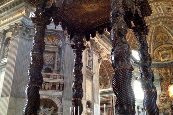 Bazylika św. Piotra w Watykanie – potęga kościoła w jednym miejscu