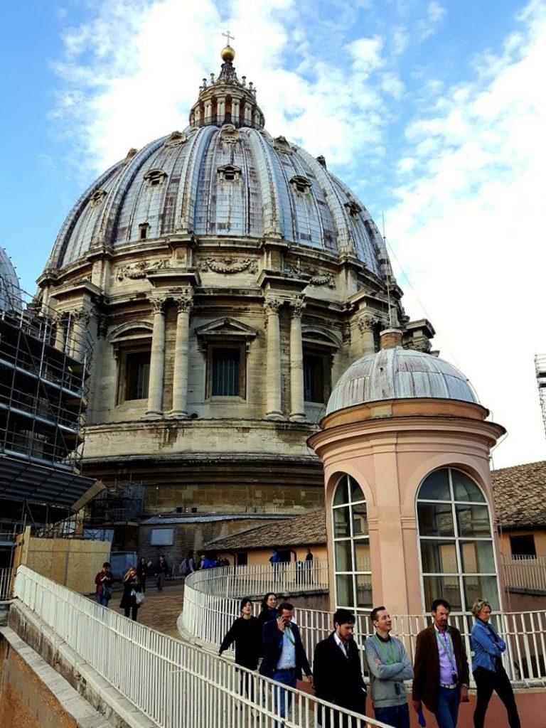 kopuła bazyliki św. Piotra